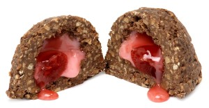 chocolate with cherry filling