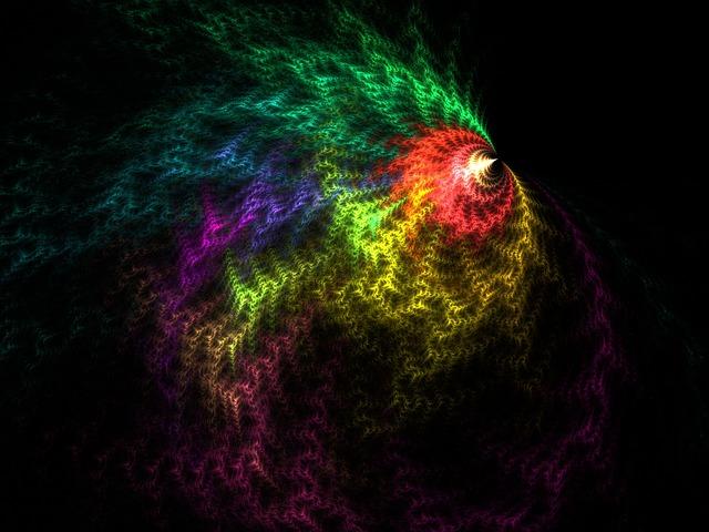 fractal spinning